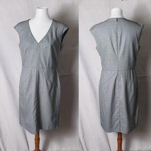 HUGO BOSS Diotta Stretch Wool Sheath Dress